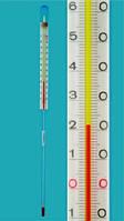 Термометр с внутренней шкалой Диапазон измерения  °C Длина 165 мм Заполнение