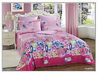 Комплект постельного белья Arya Печатный Cемейный 160X220 (Нав. 70x70) 7 Пр. Florina