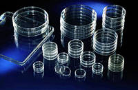 Чашки для клеточных культур, поверхность NunclonD, полистирол, обработанные, стерильные [EN]: Zellkulturschalen 60 mm Ø mit Gitter, CC, Deckel, steri