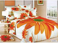 Комплект постельного белья Arya Сатин Печатный 160x220 (Нав. 70x70) Almira