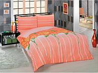 Комплект постельного белья Classi 1,5 Сп. 145x210 Adele Персиковый