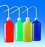 Промывалки, различных цветов, ПЭНП Объем 250 мл Резьба 25 GL Цвет желтый Высота 135 мм Диаметр 58 мм