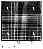 Камера подсчета с сеткой Нейбауэра, светящиеся линии Описание С зажимов