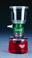 Системы стерильной фильтрации, мембрана из нитрата целлюлозы Объем 115 мл Размерпор 0,45 мкм Диаметрмембраны 50 мм Сетка зеленый