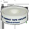 Фум — лента белая 1,2мм х 0,075мм х 8м.