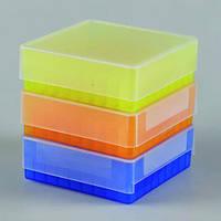 81-луночные криогенные боксы из полипропилена Цвет голубой