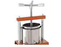 Marcato OMAC 340 Torchietto прессовая соковыжималка для яблок, винограда, томатов и сока цитрусов (5 литров)