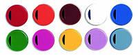 Цветовая крио кодировка для криопробирок Nunc Цвет Ассорти