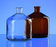 Запасная бутыль, стекло Материал Натриево-кальциево-силикатное стекло Шлиф NS 29/32 Описание амбровая