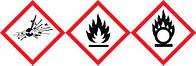Предупреждающие знаки (СГС) Тип GHS 08 Описание Опасно Символ Размеры 18 x 26 мм