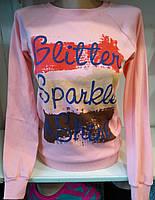 Батник на байке коттоновый женский Sparkle