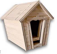 Деревянная будка для собак.900*850*900 мм