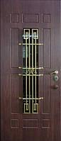 Бронированные двери с ковкой Армекс 25