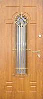 Бронированные двери с ковкой Армекс 26
