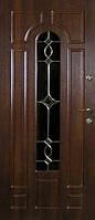 Бронированные двери с витражами Армекс 06B