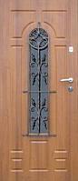 Бронированные двери с ковкой Армекс 31