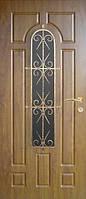 Бронированные двери с ковкой Армекс 30