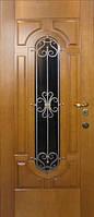 Бронированные двери с ковкой Армекс 28