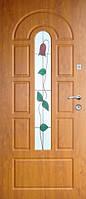 Бронированные двери с витражами Армекс 17B