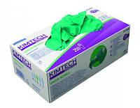 Нитриловые перчатки, неопудренные KIMTECH SCIENCE* GREEN NITRILE* Размер L (8-9) Длина 25 cм