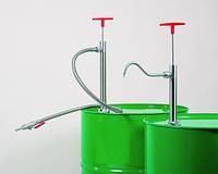 Ручной насос для бочек Глубинапогружения 570 мм Диаметр 32 мм Описание гибкая трубка с краном