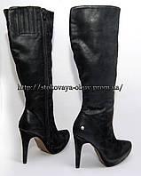 Женские демисезонные высокие сапоги, 39, 41 размер