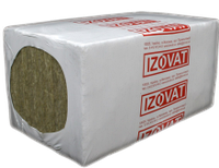 Минеральная вата IZOVAT 80 150х1000х600 мм