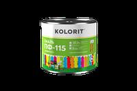Емаль ПФ-115 KOLORIT Универсал, 2,5 кг (зеленая)