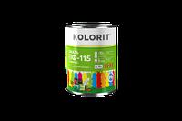 Емаль ПФ-115 KOLORIT Универсал, 0,9 кг (черная)