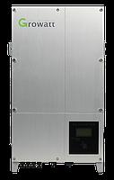 Сетевой солнечный инвертор Growatt 10000 UE трехфазный (2 MPPT)