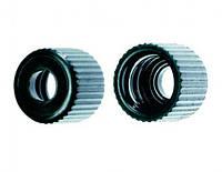 Винтовые крышки / септа [EN]: Screwthread caps, open phenol black, 8mm Ø, pack of 1000