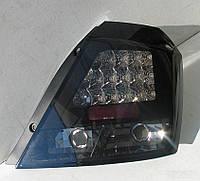 Фары оптика задняя Chevrolet Aveo T200 тюнинг LED LUX
