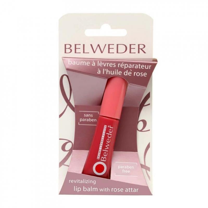 Бельведер Бальзам д/губ восстанавливающий жидкий (розовое масло) 7мл  +