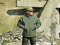 Куртка тактик OLIVE(softshell)