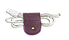 Зажим для кабелей и наушников Gato Negro (фиолетовый), фото 4