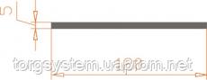 Алюминиевая полоса (шина) 120х5 анодированная (AS)