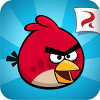 Mp3 плеер angry birds + наушники + кабель + коробка