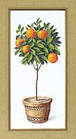 """Набор для вышивания крестом Crystal Art """"Апельсиновое дерево"""""""