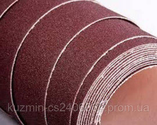 Шлифовальная шкурка на бумажной основе К80; 20cм*50м INTERTOOL BT-0818