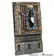 Подарки для дома Ключница настенная Вешалка держатель для полотенец на кухню, фото 1
