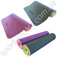 Йога-мат Premium Yoga Mat  Power System