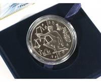 "Серебряная монета ""Весы"", фото 1"