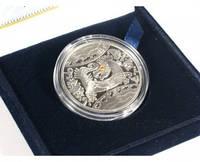 """Серебряная монета """"Год Дракона"""", фото 1"""