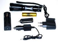 Тактический фонарь Bailong BL-1837-T6 50000W