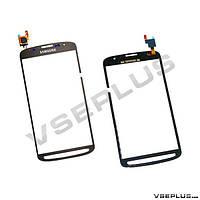 Тачскрин (сенсор) Samsung I9295 Galaxy S4 Active / i537 Galaxy S4 Active, серый