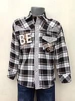 Рубашка для мальчиков Большая клетка