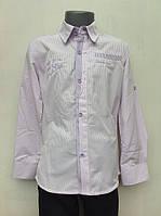 Нарядная рубашка для мальчиков 128,140,152,164 роста