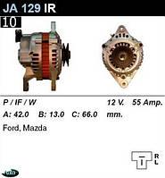 Генератор Mazda 121 323 RX7 90-93г 55Амр. JA129IR
