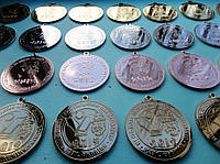 Изготовление медалей под заказ.
