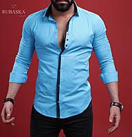 Рубашка мужская с длинным рукавом, фото 1